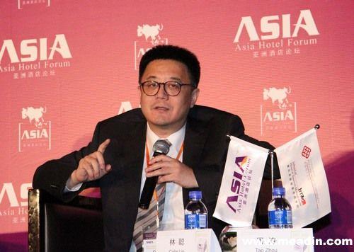 万豪国际集团中国区酒店业务发展高级副总裁林聪先生图片