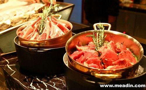 杭州雷迪森铂丽大酒店法式自助餐图片