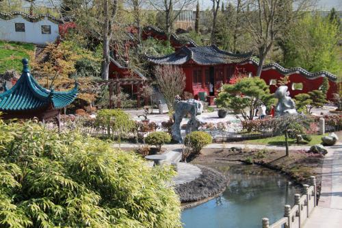 """比利时天堂动物园也称天堂公园(pairidaiza),被誉为""""比利时最美动"""