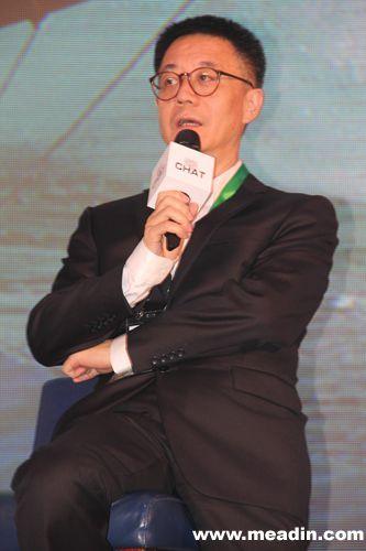 万豪国际集团中国地区酒店业务发展高级副总裁 林聪图片