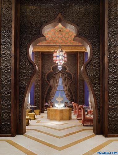 奧斯曼和阿拉伯風格主題的巧妙交織