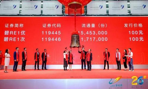 碧桂园租赁住房REITs在深交所落地发行 首期规模17.17亿