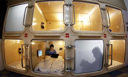 花40年才流行全球的胶囊旅馆 在中国要几年?