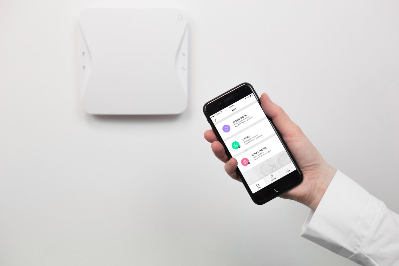 Klevio发布可远程开门的智能门铃系统