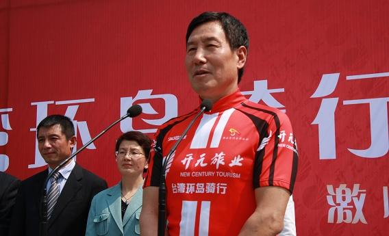 陈妙林率开元自行车队今起赴台环岛骑行