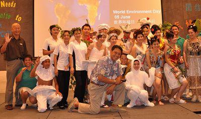 """石梅湾艾美度假酒店举行纪念""""世界环境日""""活动"""
