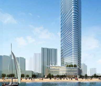 大连君悦酒店大厦将在2011年建成