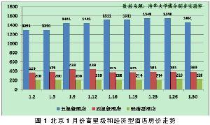 2010年1月京、沪、穗酒店市场简析