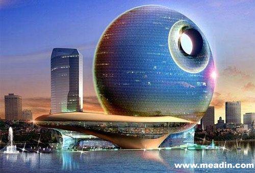 全球10大未来主义新概念酒店