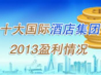 196期:2013年十大国际酒店集团盈利情况