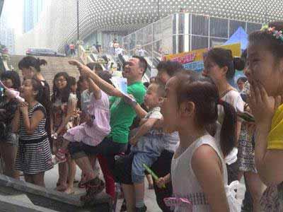 2014年都江堰暑期旅游推广活动来到武汉了