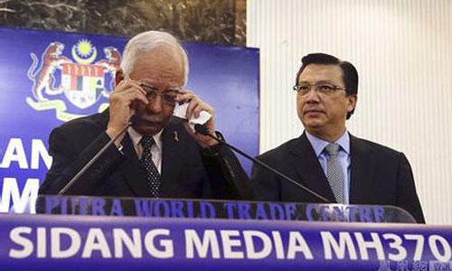 马来总理:留尼汪岛飞机残骸属于马航MH370