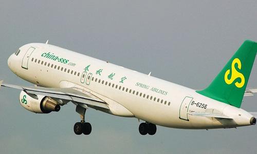 春秋航空拟63亿美元向空客购60架飞机