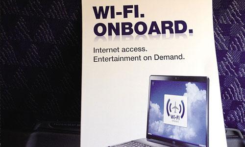 机上WiFi已成航企航线竞争的宣传砝码
