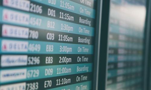 航班准点率不合格 民航局处罚4家航企3座机场