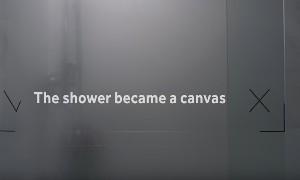 万豪酒店:从普通浴室门板到灵感画布的转变