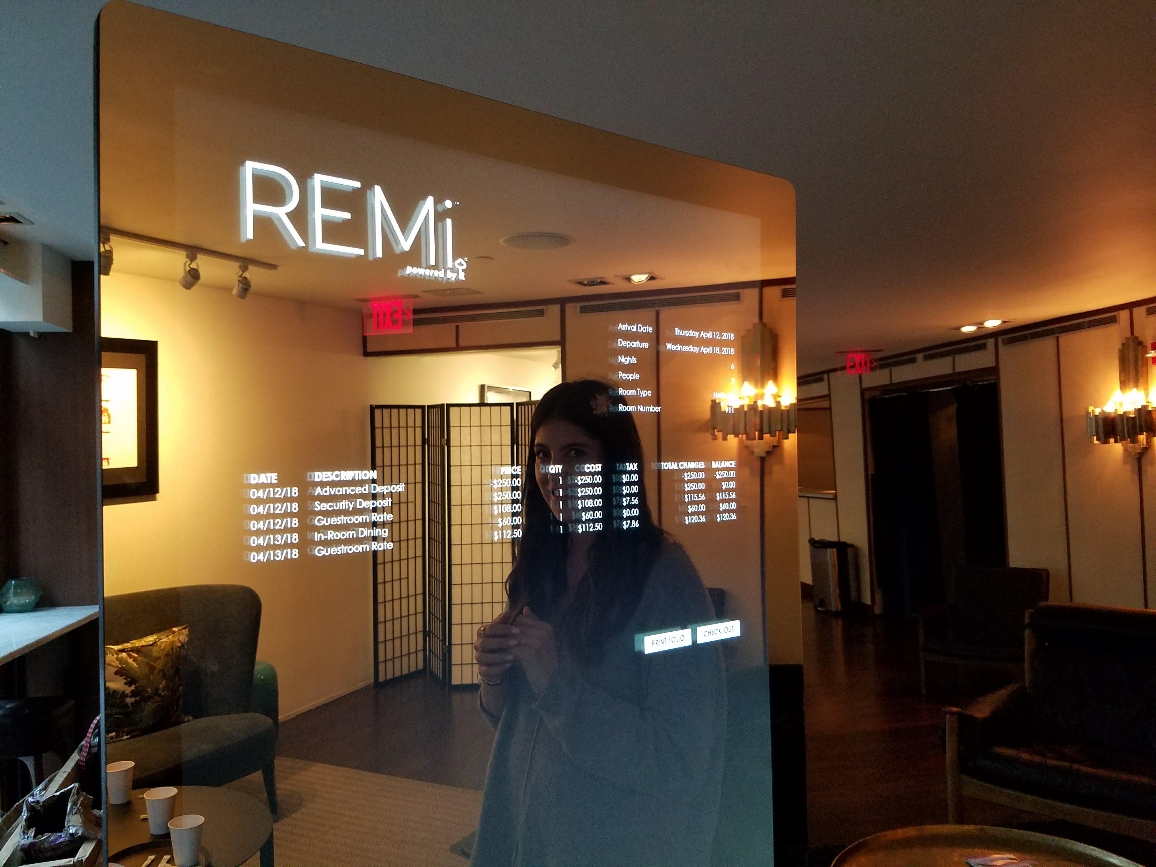 """智能""""魔镜""""帮助重新定义酒店客人体验"""
