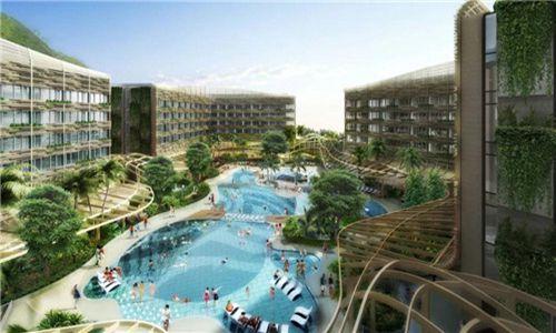 香港海洋公园万豪酒店6月即将开业