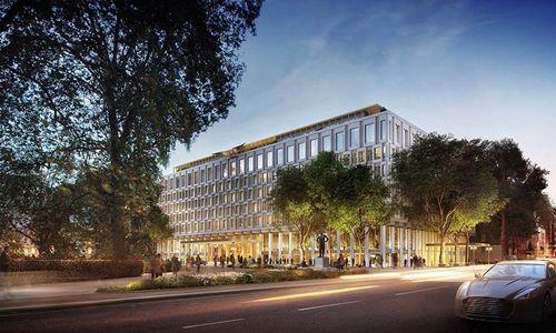 伦敦前美国大使馆建筑将被改造成一家豪华酒店