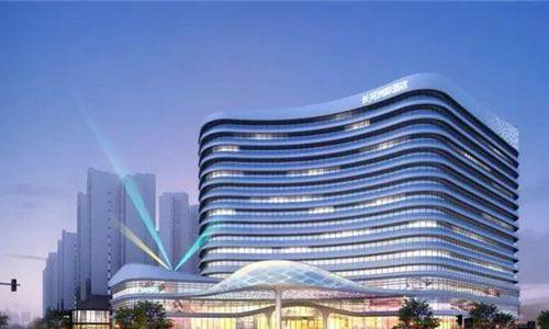 湖南湘乡长河洲际酒店奠基