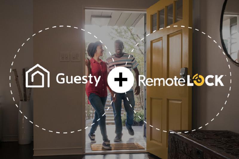 Guesty将云端虚拟锁RemoteLock添加到第三方服务中