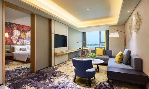 上海三甲港绿地铂骊酒店近日开业
