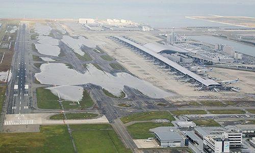 日本关西机场关闭冲击旅游业 每天损失上亿