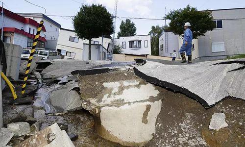 """北海道地震修正为7 亲历者""""从床上被抛起来"""""""