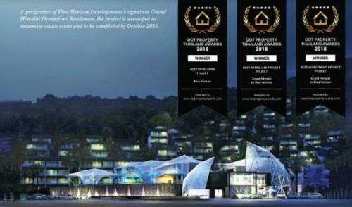泰国普吉岛Grand Himalai海滨住宅酒店开业筹建