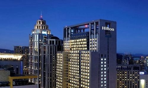 台北新板希尔顿酒店10月12日开业