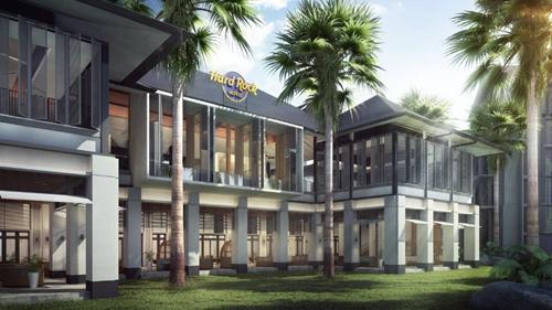马来西亚迪沙鲁海岸硬石酒店开业