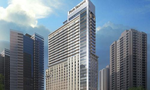 圣保罗纳克斯乌尼达斯四季酒店及私人住宅10月23日开业