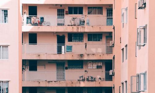秋风吹 公寓凉