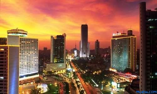 2011中国餐饮十大影响力城市