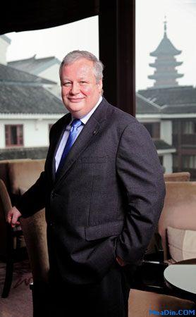 苏州吴宫泛太平洋酒店和总经理 陆博伦