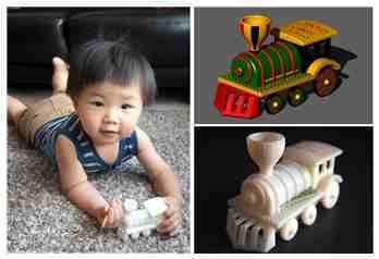 CAD达人老爸3D打印趣味火车