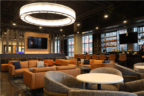 Hyatt House Chicago West Loop Fulton Market _ Interior Lounge and Bar.jpg