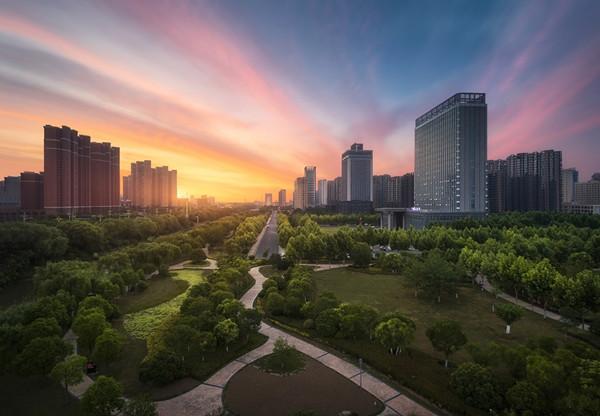 摄图网_501637305_城市园林天际线(企业商用).jpg