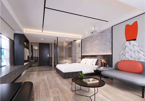 ZMAX HOTELS落户嘉兴平湖,在线电子游戏网址设计大胆时尚十分抢眼