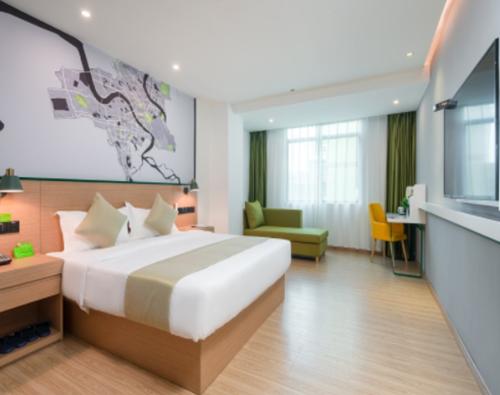 这个夏天来海口市椰海大道青皮树酒店,与海相聚