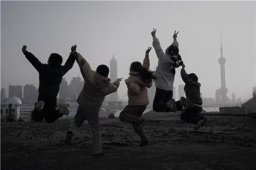 北外滩虹口港附近。肖可霄摄于2005年。.JPG