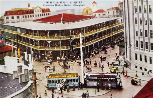 """中国第一个""""室内菜市场""""虹口三角地菜场,1923年改建为水泥结构建筑,它是很多老虹口人的回忆.jpg"""