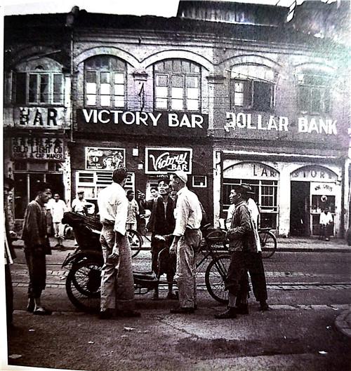 """大名路(原百老汇路),旧上海的""""酒吧一条街"""".jpg"""